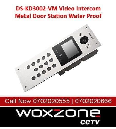 DS-KD3002-VM VIDEO INTERCOM METAL DOOR STATION WATER PROOF