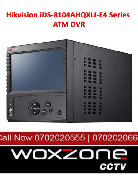 HIKVISION IDS-8104AHQXLI E4 SERIES ATM DVR