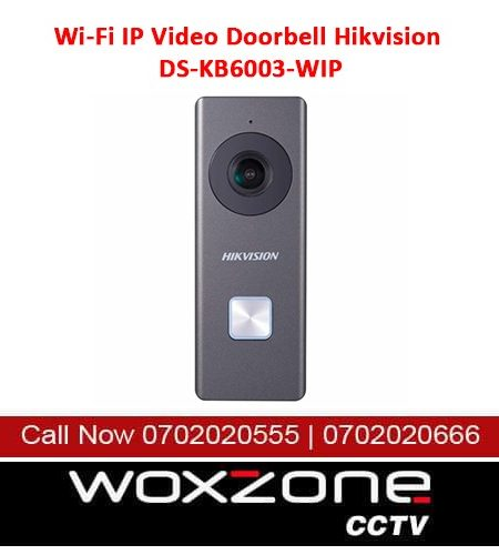 WI-FI VIDEO DOORBELL HIKVISION DS-KB6003-WIP