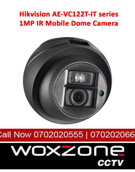HIKVISION AE-VC122T-IT SERIES 1MP IR MOBILE DOME CAMERA